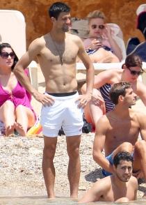 Novak Djokovic, de despedida de soltero en Ibiza