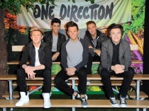 One Direction, en el museo de cera de Berlín