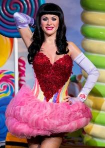 Katy Perry no debe estar muy contenta con su figura