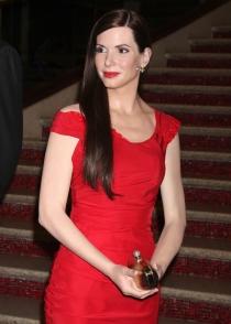 El muñeco de cera de Sandra Bullock, un calco a la actriz