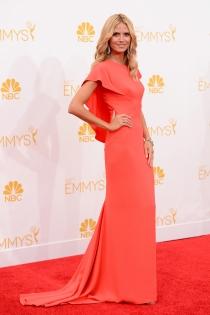 Heidi Klum, la más guapa de los Premios Emmy 2014