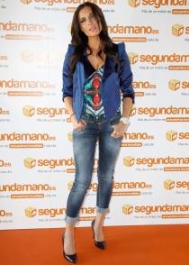 Pilar Rubio, sus ojos a juego con su ropa