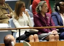 El look de Letizia en la ONU
