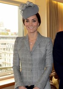 El look de embarazada de cuatro meses de Kate Middleton