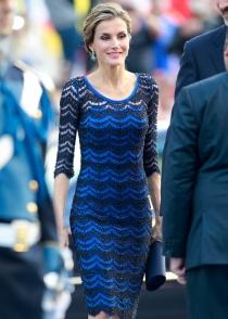 El look de Letizia en los premios Príncipe de Asturias 2014