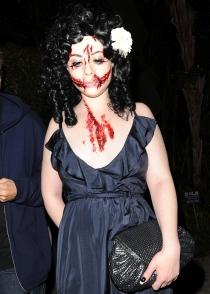 Michelle Trachtenberg, el dissfraz más terrorífico de Halloween