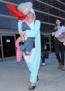 Miley Cyrus, el conejo más gracioso de Halloween