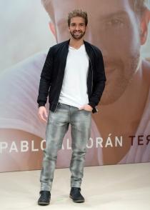 Pablo Alborán, en la presentación de Terral