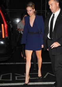 Jennifer Lawrence, adicta a los escotes