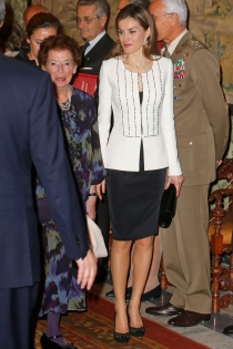 Letizia, por primera vez en Italia como Reina de España