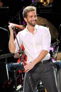 Pablo Alborán, en el concierto homenaje a Joan Manuel Serrat en los Latin Grammy