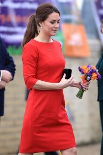 Kate Middleton, sin tripa de embarazada a unos meses de dar a luz