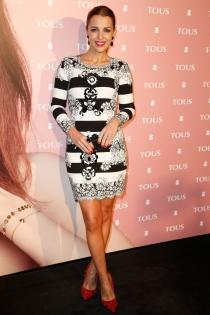El look de Paula Echevarría en un evento de Tous