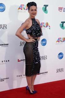 El look de Katy Perry en los Premios Aria 2014