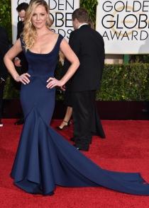 Globos de Oro 2015: Katherine Heigl, estilo sirena con un Zac Posen