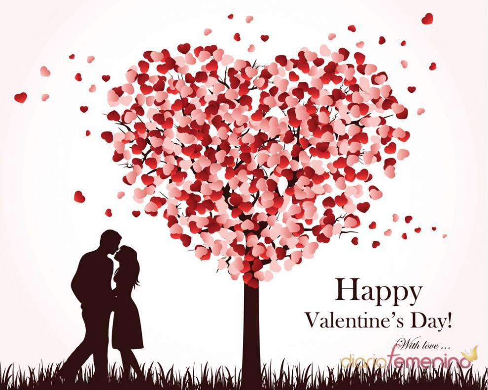San valent n los corazones son los protagonistas de las - Postales dia de san valentin ...
