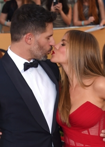 Sofía Vergara y Joe Manganiello, cómplices en la red carpet