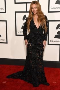 Beyoncé, el éxito vestido de encaje en los Grammys 2015