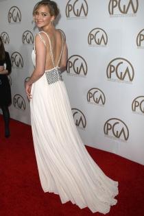 Jennifer Lawrence, elegante y sofisticad