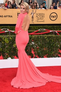 Charissa Thompson, deslumbrante en los SaG Awards