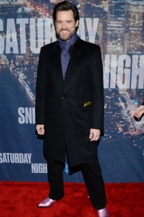 Jim Carrey, llamativo y atrevido