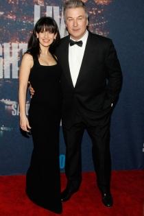 Alec Baldwin, a conjunto con su esposa