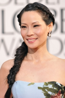 Lucy Liu, trenza de espiga