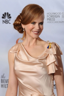 Nicole Kidman, coqueta con recogido