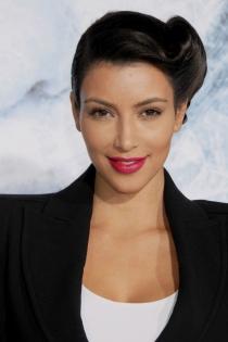 Kim Kardashian, la chica pin up