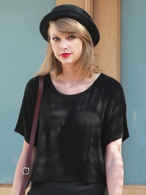 Taylor Swift a pesar de su poder mediático es bastante discreta