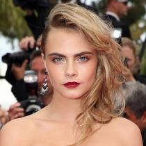 Cara Delevingne, un maquillaje muy 'vamp'