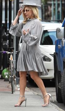 Lady Gaga y su look de señora por la calle