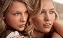 Taylor Swift y Karlie Kloss, cariñosas y amigas