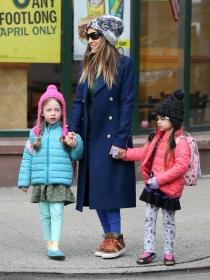 Sarah Jessica Parker, volcada en sus hijas