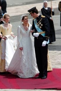 Felipe y Letizia se casaron el 22 de mayo de 2004
