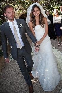 Lily Aldridge dio el sí quiero el 12  de mayo de 2011