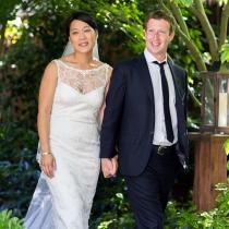 Mark Zuckerberg se casó el 20 de mayo de 2012 con su novia Priscilla