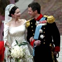Federico de Dinamarca y Mary Donaldson, sí quiero el 14 de mayo de 2004