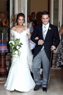 Bodas de famosos: Paula Echevarría y David Bustamante