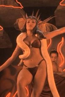 Salma Hayek, serpientes de cine