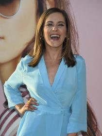 María León, muy feliz en todo momento