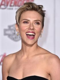 La risa de Scarlett Johannson enamora a sus fans