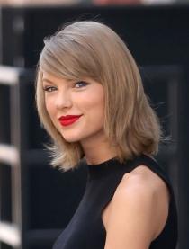 Cortes de pelo para rubias: Taylor Swift y su melena midi