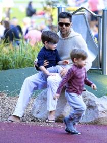 Los hijos de Ricky Martin, su prioridad en el Día del Padre
