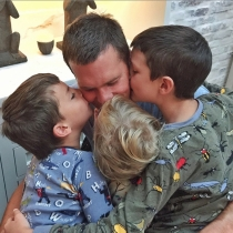 Gisele Bündchen felicitó a Tom Brady por el Día del Padre