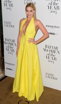 Margot Robbie triunfa en los photocalls con espectaculares vestidos