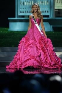 El impresionante vestido de Olivia Jordan dejó sin palabras en Miss USA