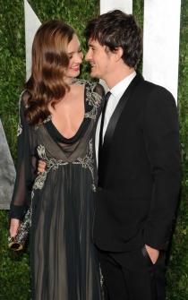 Famosos que se separaron y se llevan bien: Miranda Kerr y Orlando Bloom