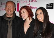 Exparejas que son amigos: Demi Moore y Bruce Willis