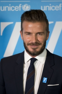 Día internacional de la solidaridad: David Beckham, todo por la infancia